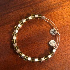 Alex and Ani green bracelet